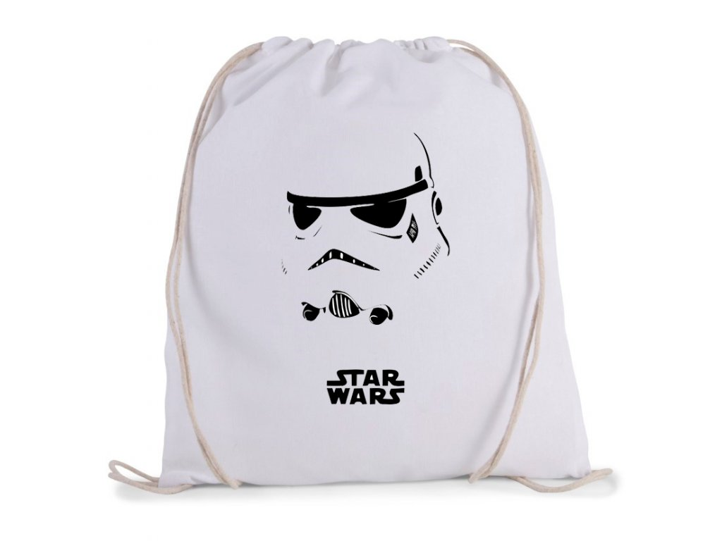 vak na záda Star Wars Stormtrooper Maska