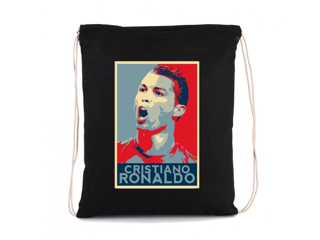 vak na záda Cristiano ronaldo