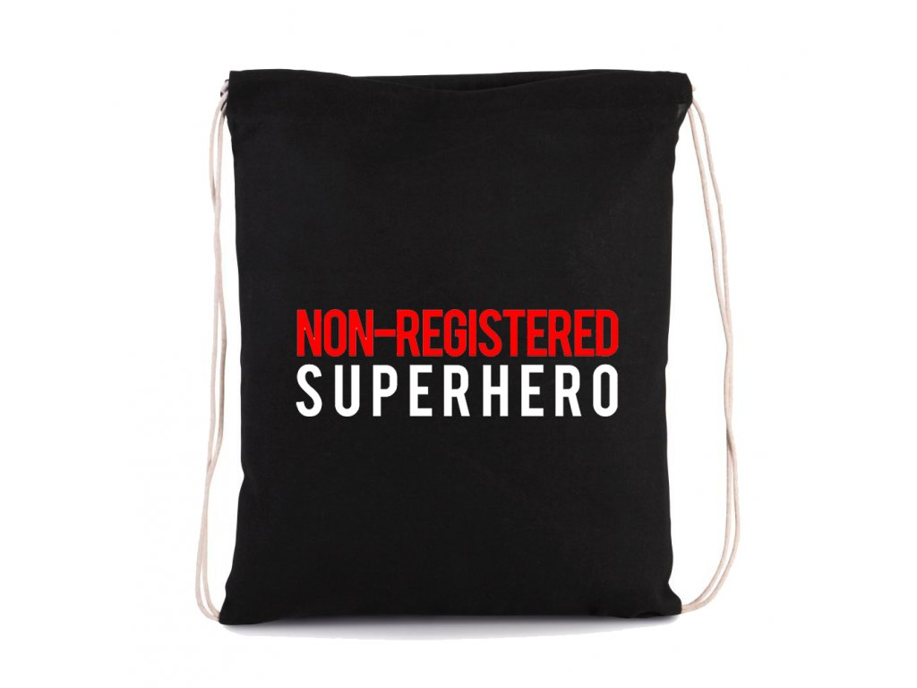 vak na záda Neregistrovaný superhrdina