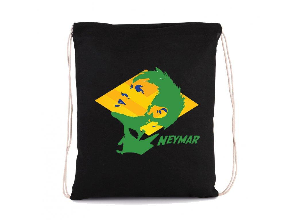 vak na záda Neymar brazílie