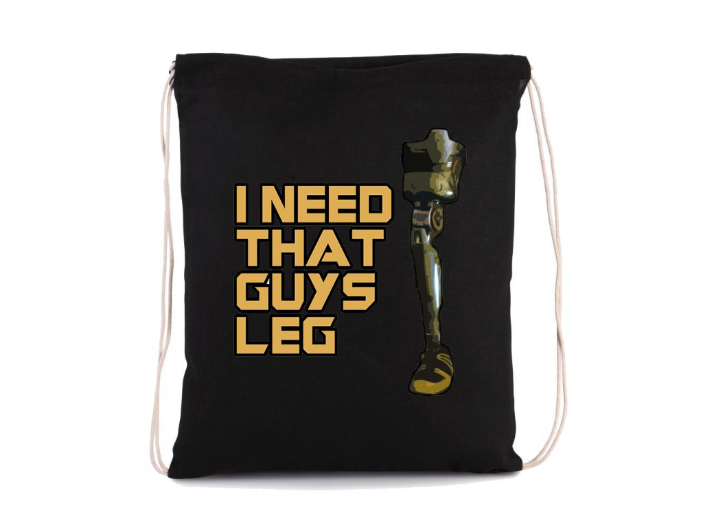 vak na záda Strážci Galaxie Potřebuji tu nohu