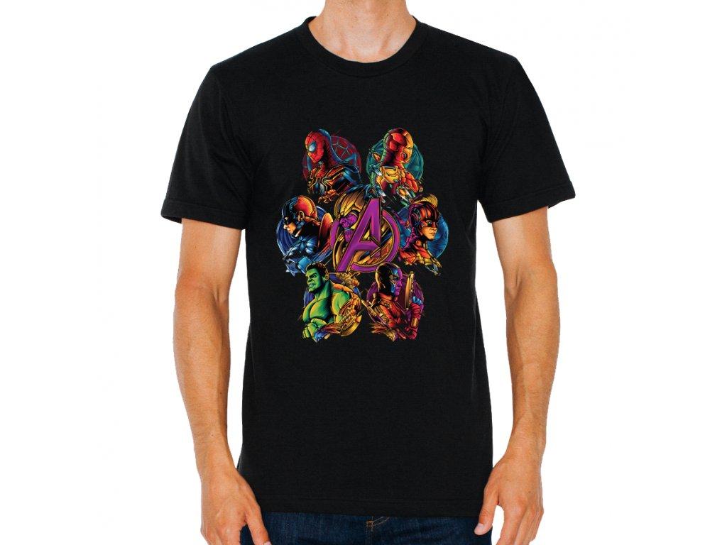 Pánské tričko Avengers tým