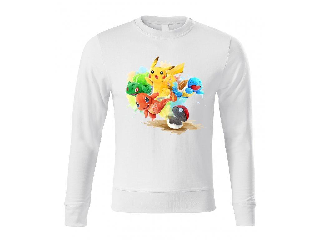 mikina bez kapuce Pokemon