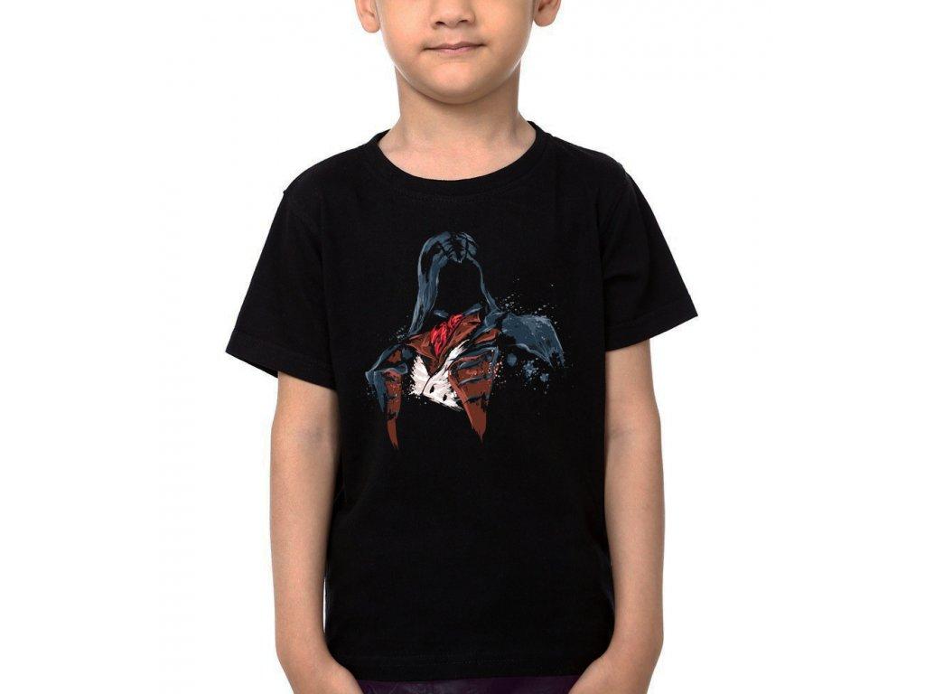 Dětské tričko Assassins Creed maska