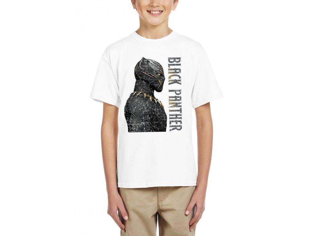 Dětské tričko Black panther Král Wakandy