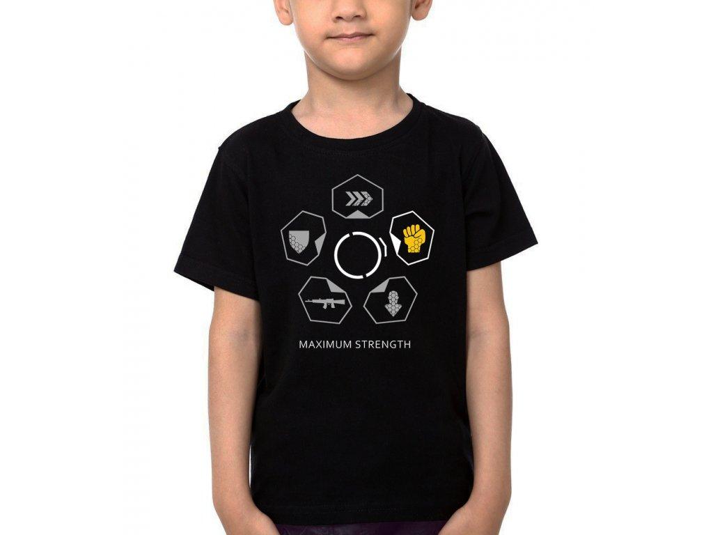 Dětské tričko Crysis Maximální síla