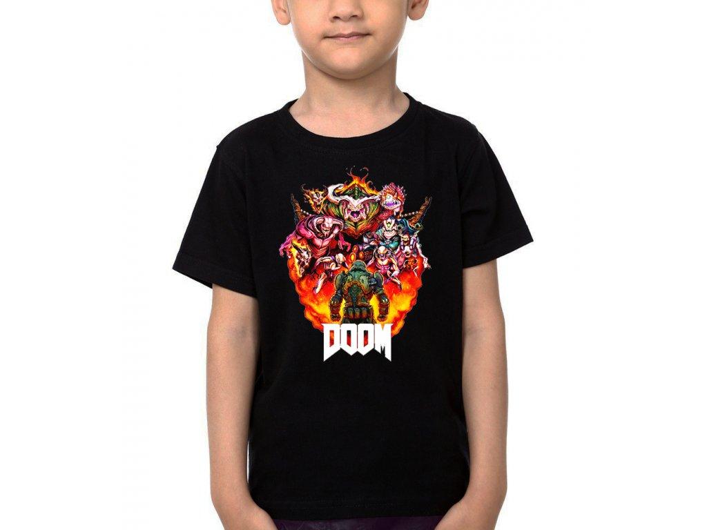 Dětské tričko DOOM Fight