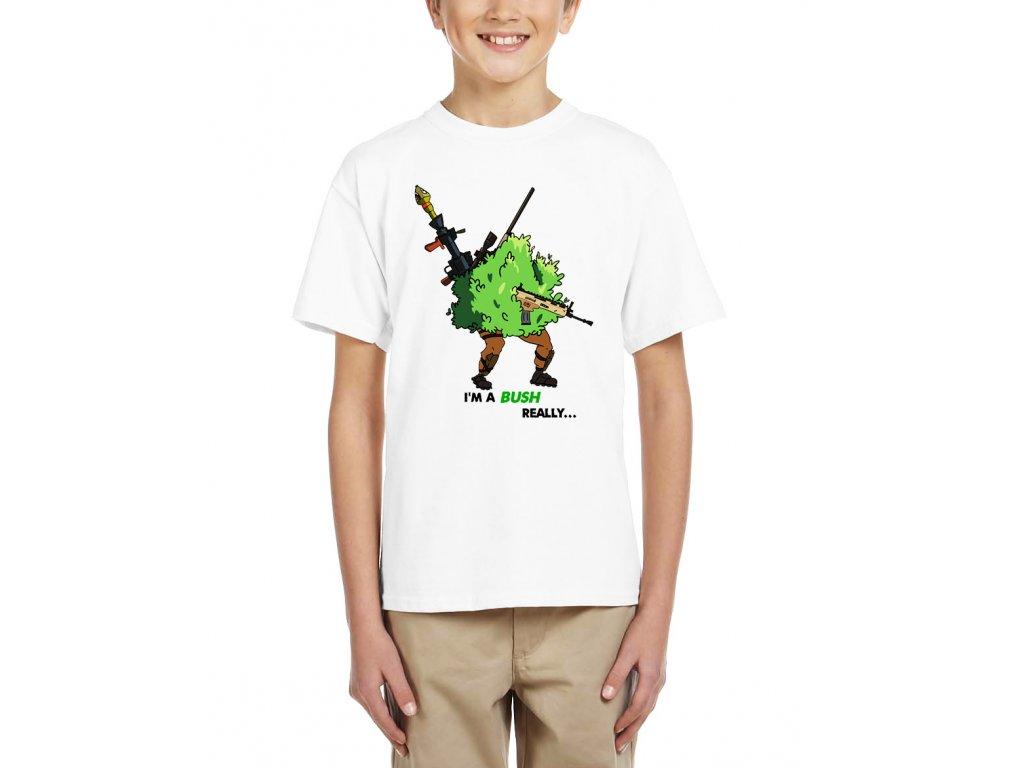Dětské tričko Fortnite Já jsem keř