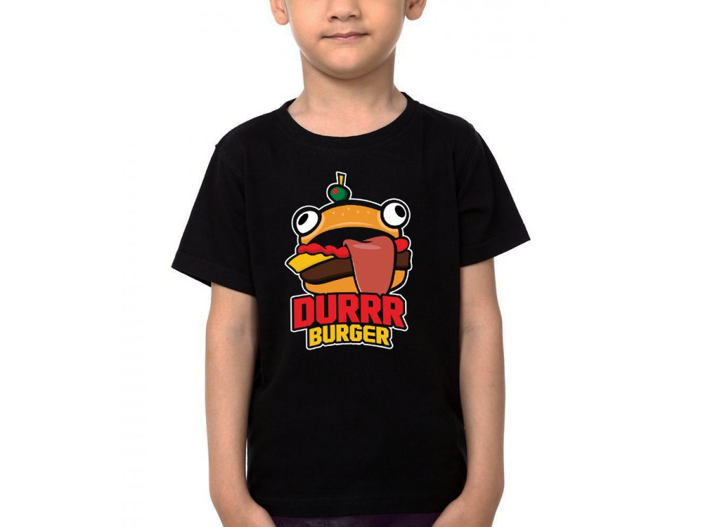 Dětské tričko fortnite durrr burger