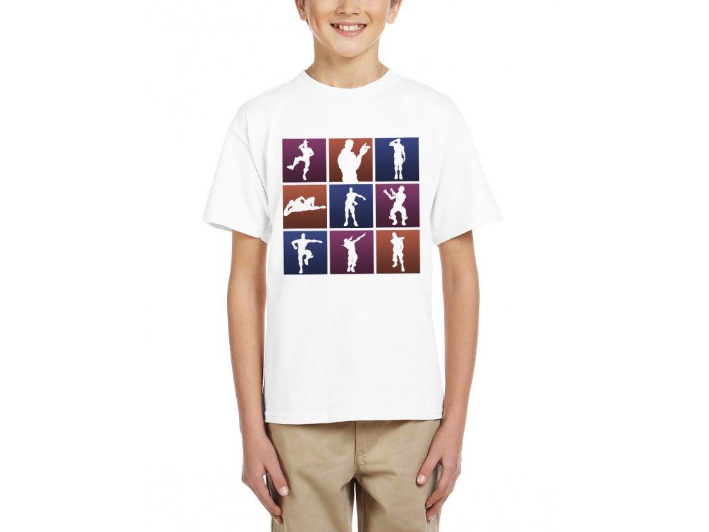 Dětské tričko fortnite motivy
