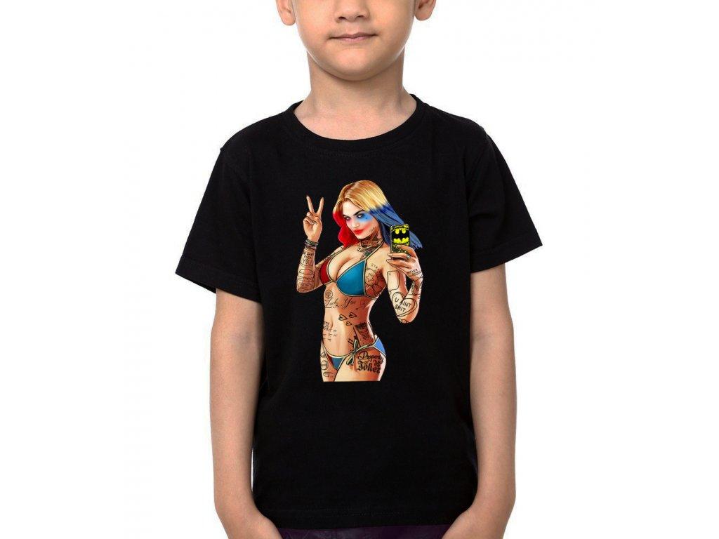 Dětské tričko GTA Harley Quinn