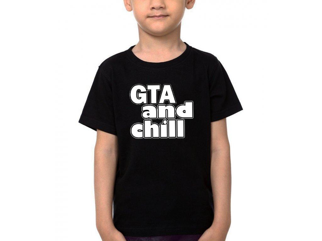 Dětské tričko GTA a Klid