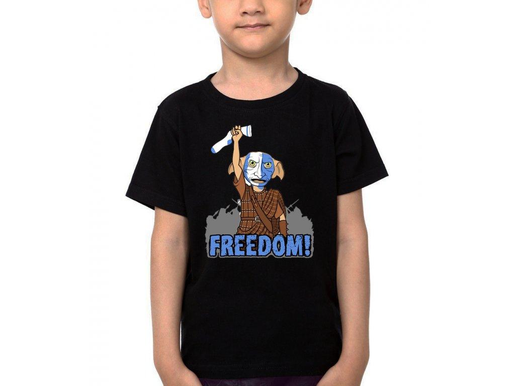 Dětské tričko Harry potter Dobby Svoboda