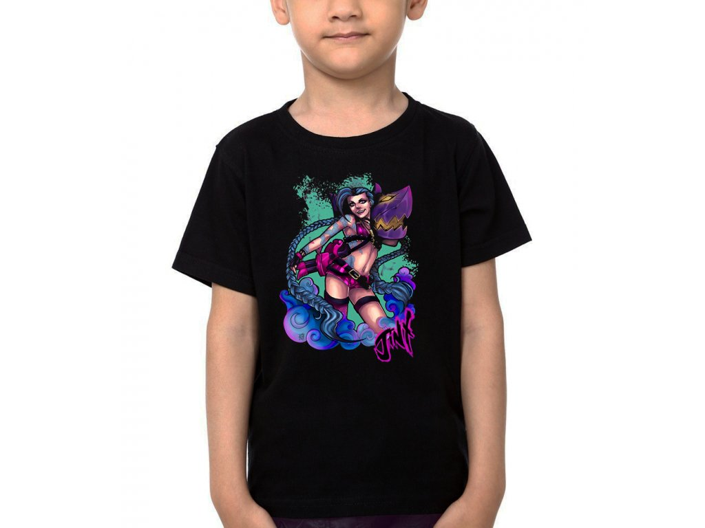Dětské tričko Jinx League of Legends