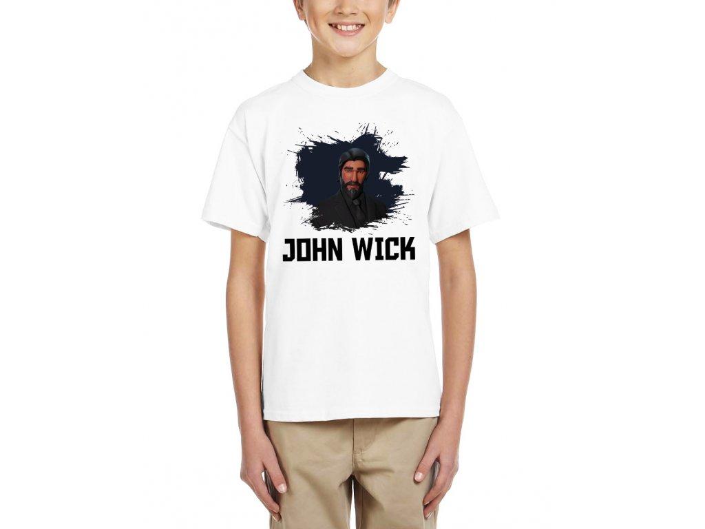 Dětské tričko john wick fortnite