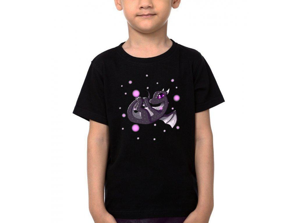 Dětské tričko minecraft Ender Dragon