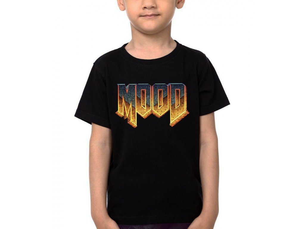 Dětské tričko MOOD Parodie DOOM