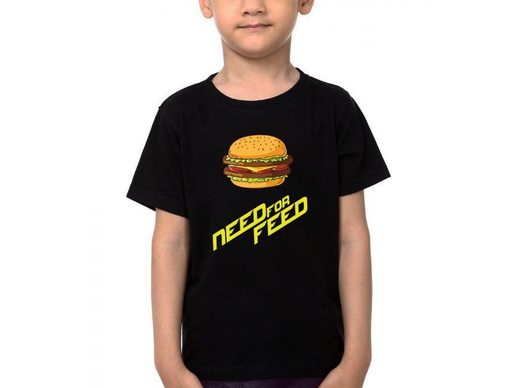 Dětské tričko Need for Speed Parodie