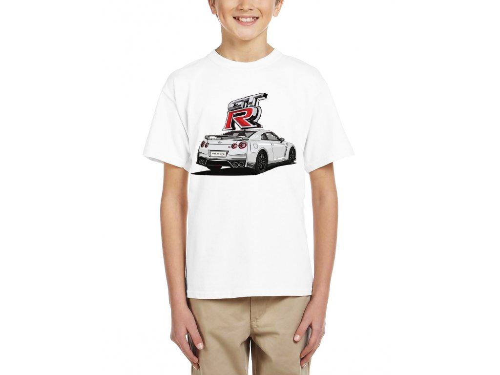 Dětské tričko Nissan GT R Rychle a zběsile