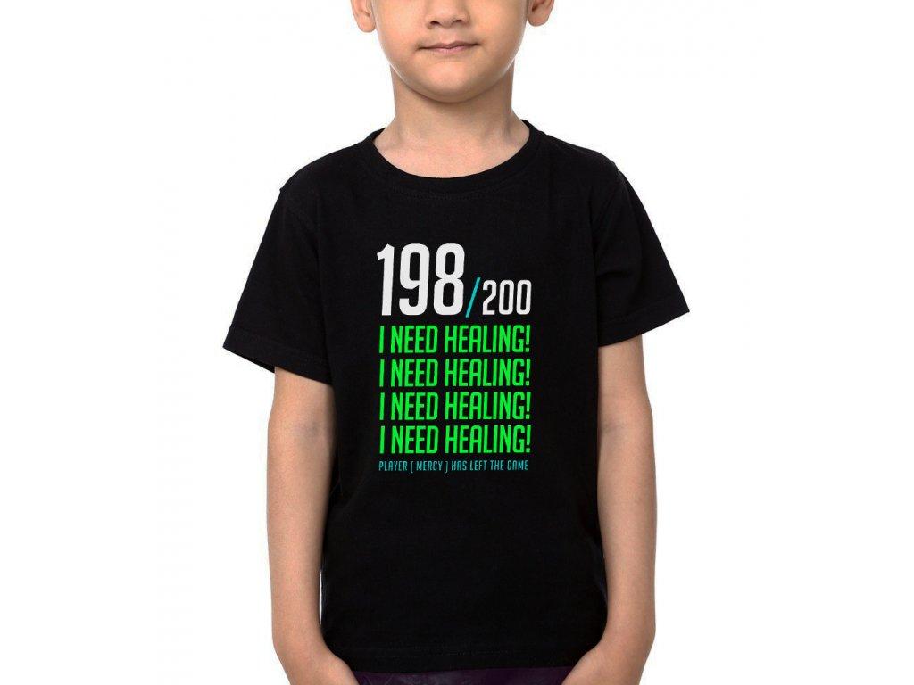Dětské tričko Overwatch potřebuji zdraví