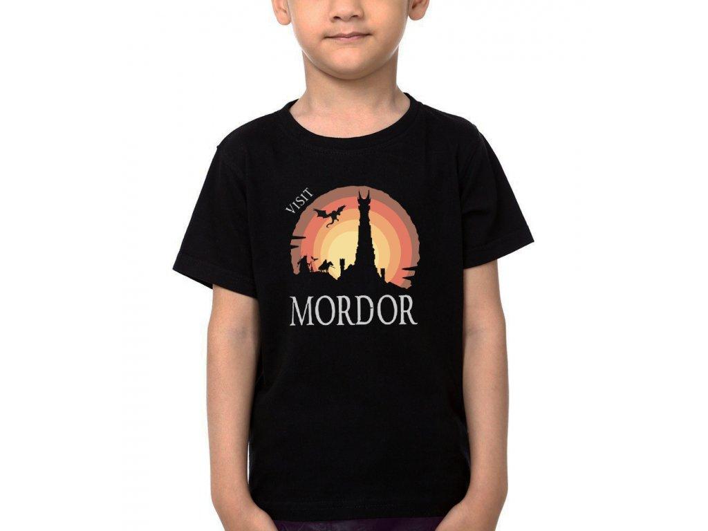 Dětské tričko Pán prstenů Navštivte Mordor
