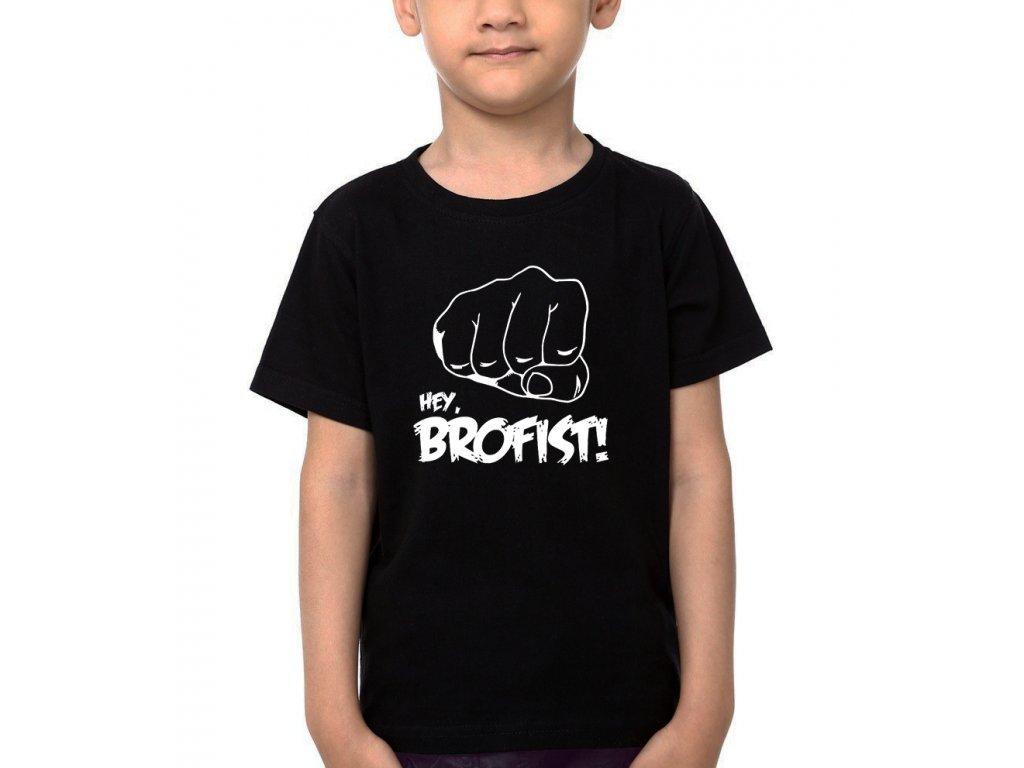 Dětské tričko Pewdiepie Hey brofist