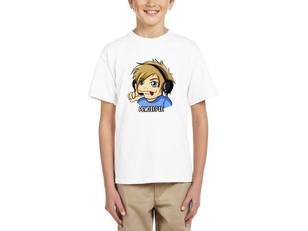 Dětské tričko Pewdiepie Hráč
