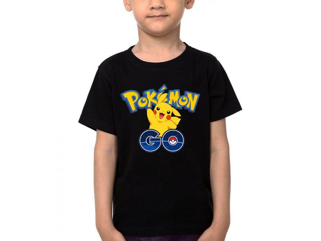 Dětské tričko pikaču