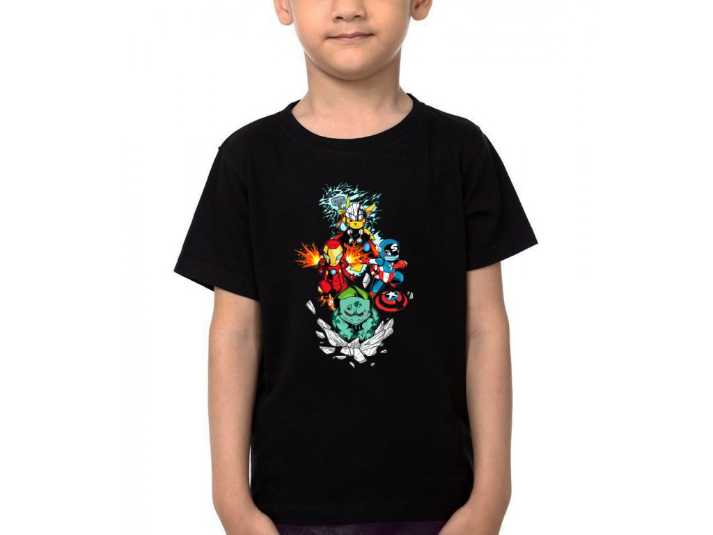 Dětské tričko Pokemon Avengers