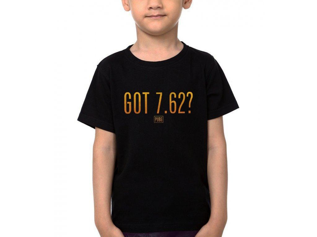 Dětské tričko PubG 7.62