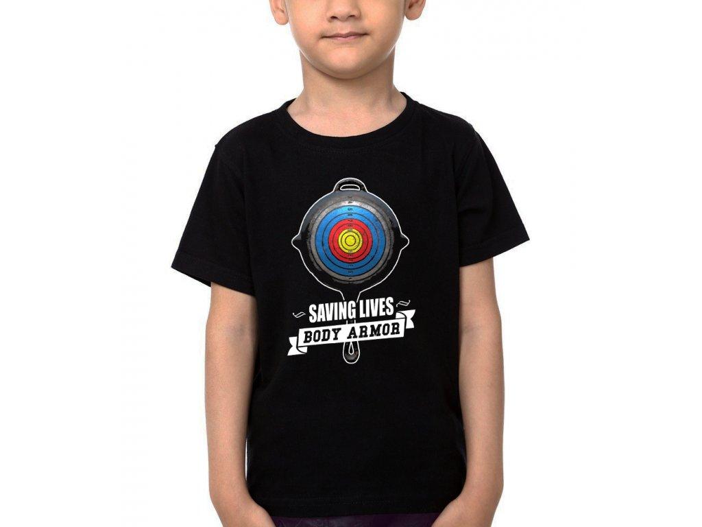 Dětské tričko Pubg Pánev
