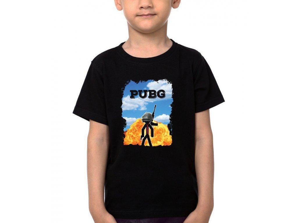 Dětské tričko Pubg Hra