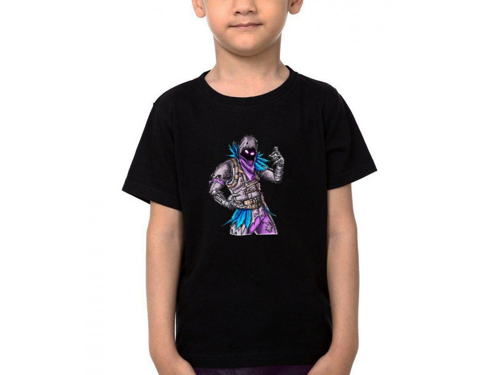 Dětské tričko Raven Fortnite