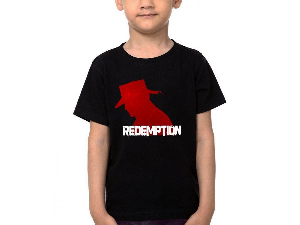 Dětské tričko Red dead redemption psanec