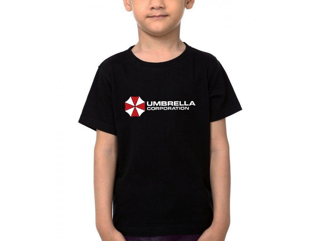Dětské tričko Resident Evil Korporace Deštníků
