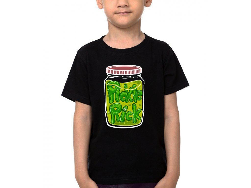 Dětské tričko Rick and Morty Já jsem Pickle Rick