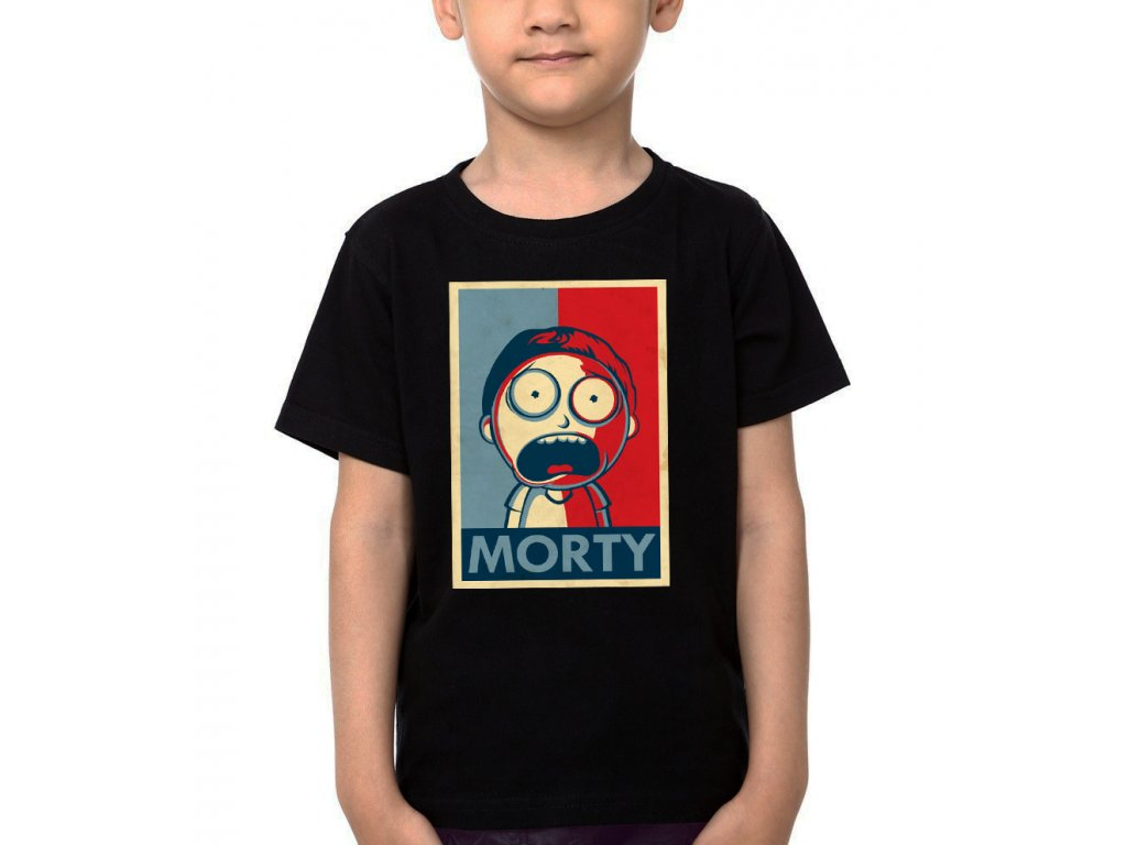 Dětské tričko Rick And Morty Morty