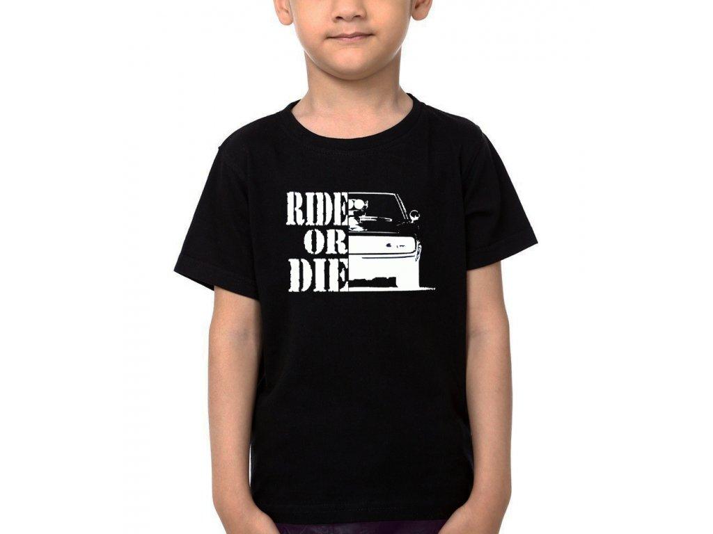 Dětské tričko Rychle a zběsile Ride or die