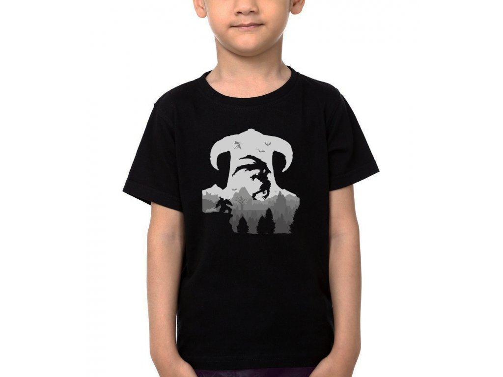 Dětské tričko Skyrim