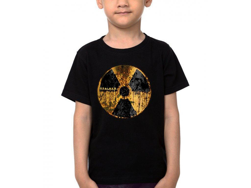 Dětské tričko Stalker Radiace