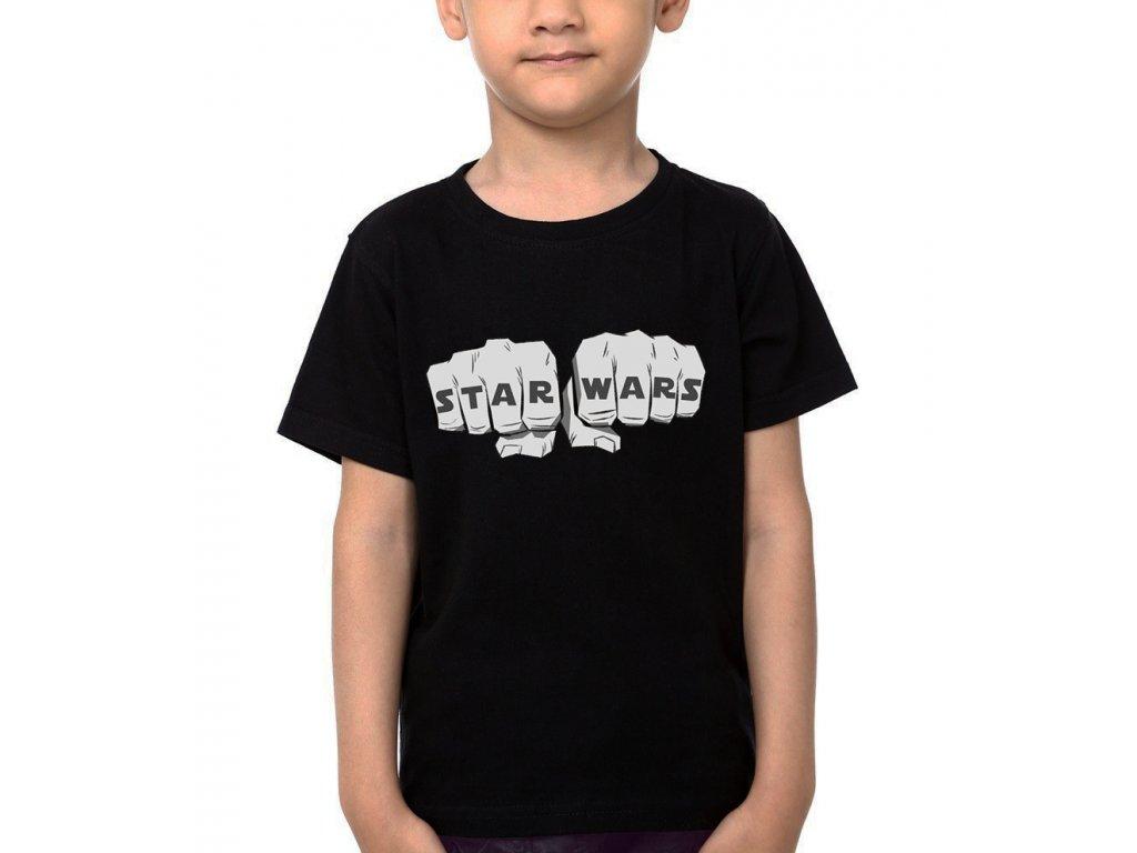Dětské tričko Star Wars Pěsti