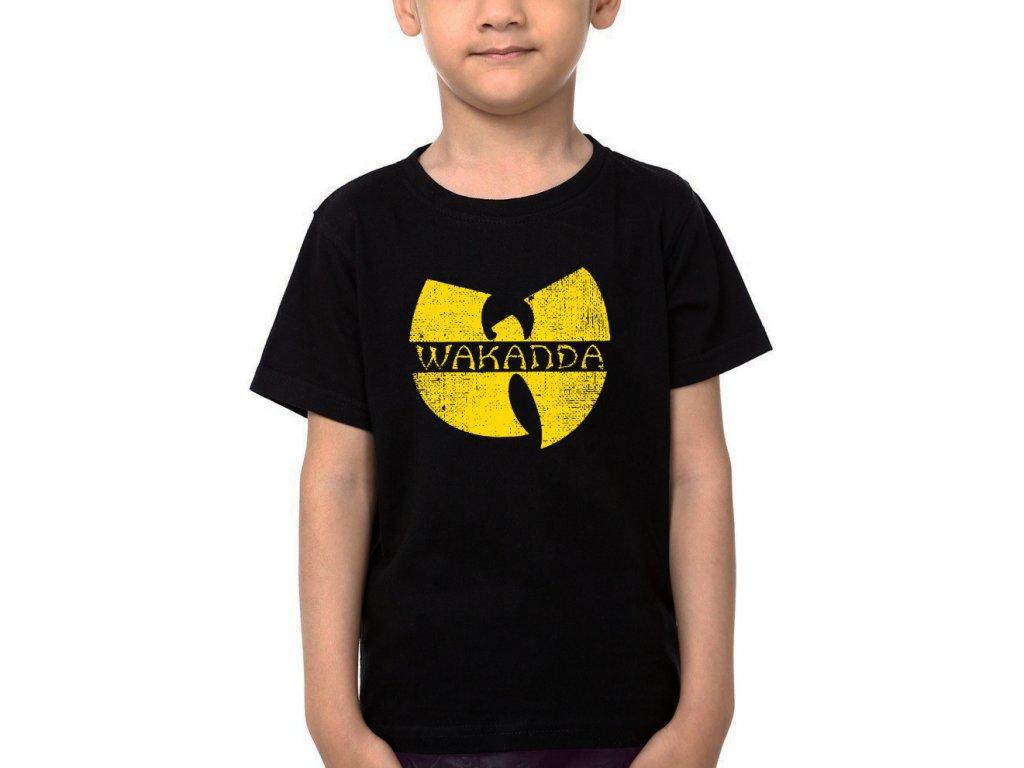 Dětské tričko Black panther Wakanda
