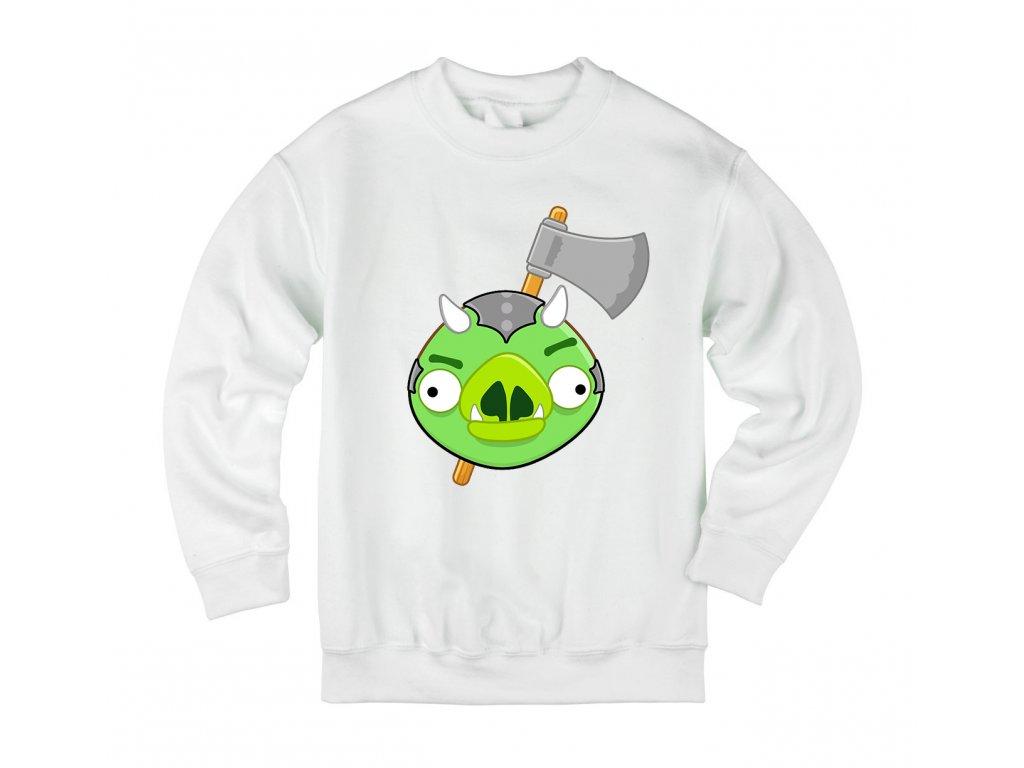 Dětská mikina Angry Birds Vs. Gamorreans