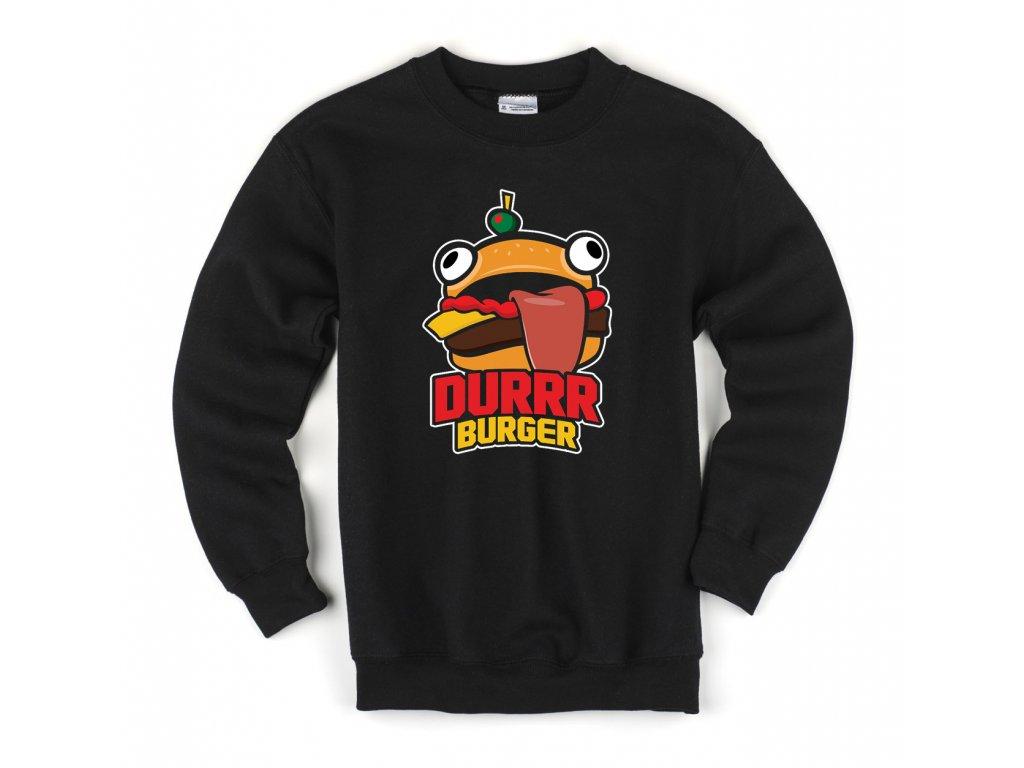 Dětská mikina fortnite durrr burger