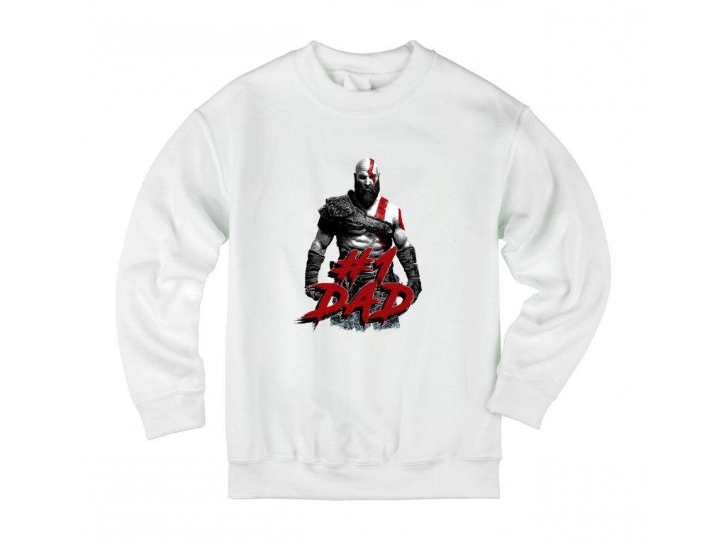 Dětská mikina God of War Nejlepší táta