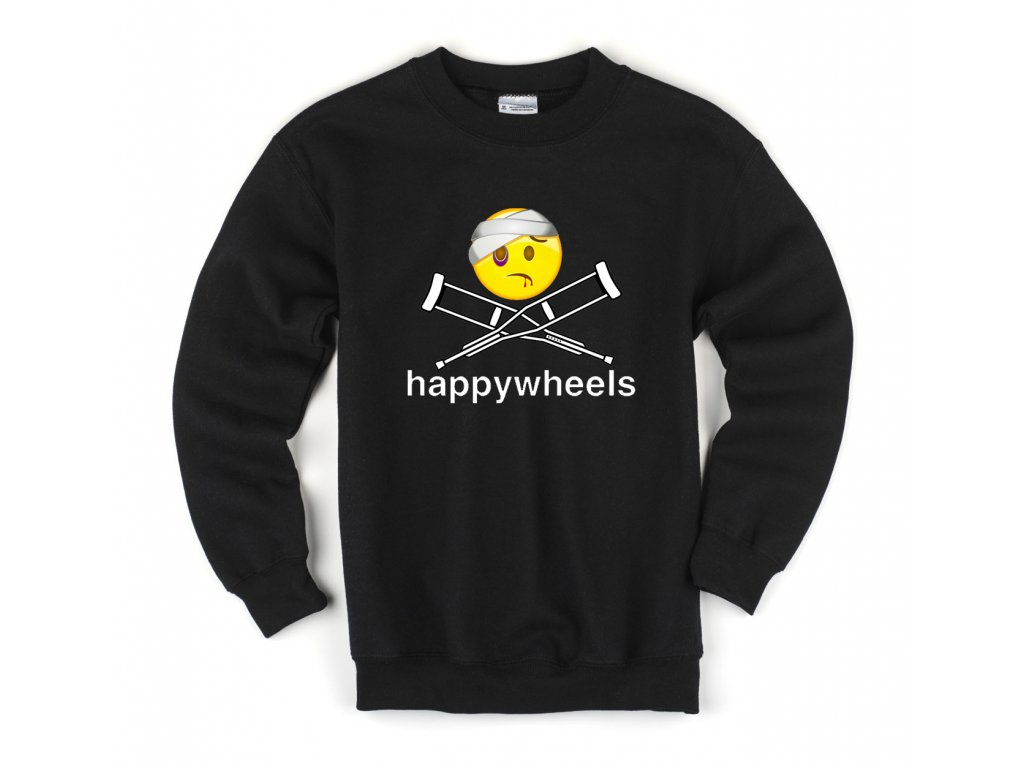 Dětská mikina Happy Wheels