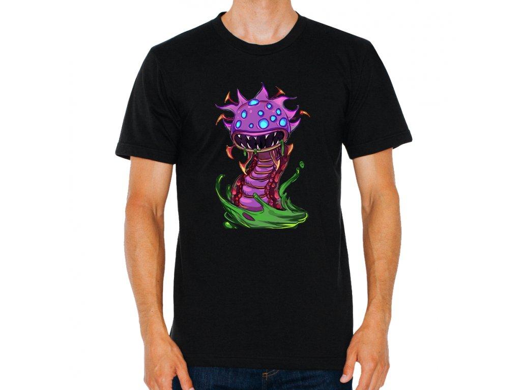 pánské černé tričko League Of Legends Baron Nashor