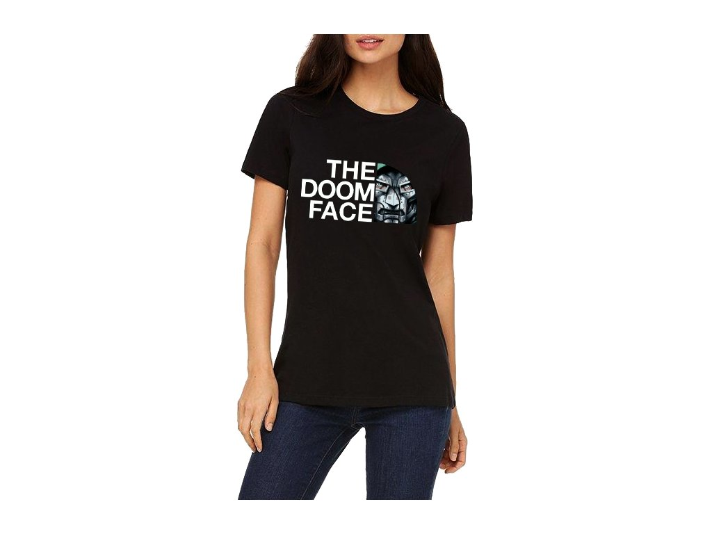 Dámské tričko DOOM Parodie The North Face