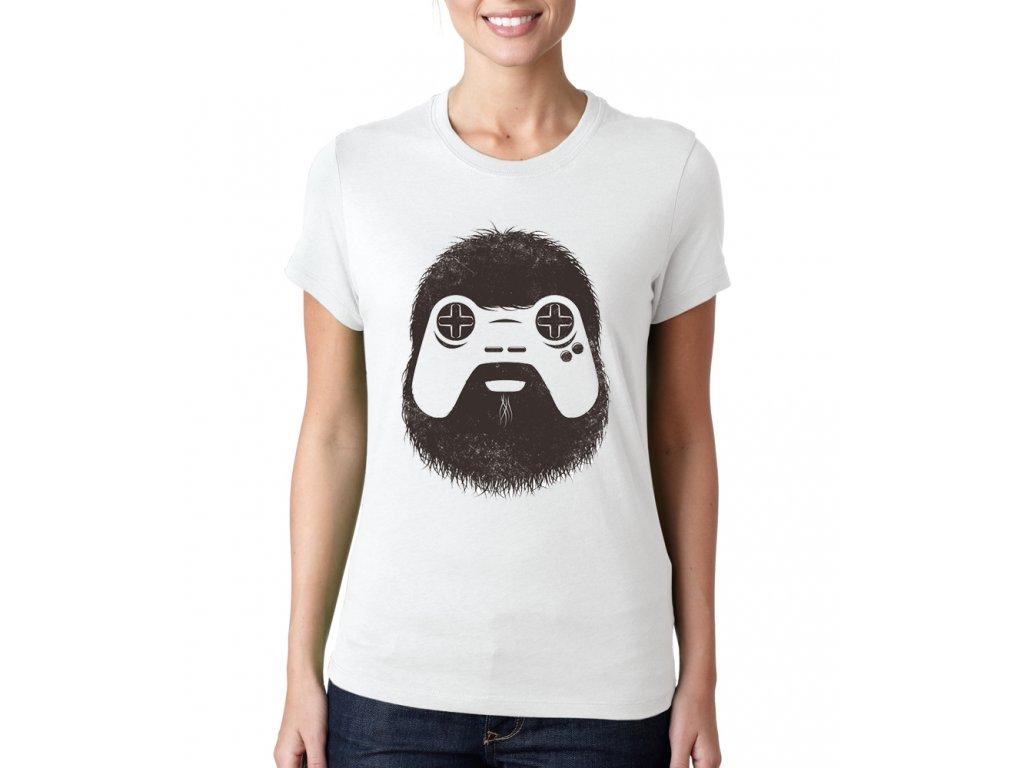 Dámské tričko Gamer hráč