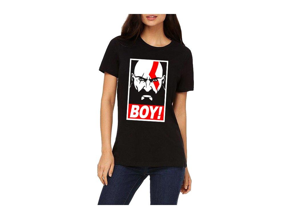 Dámské tričko God of War BOY Kratos